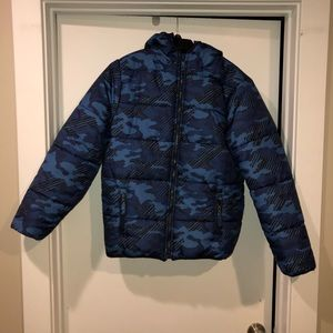 Big Boys Midweight Coat XL 14/16